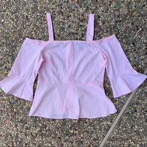Pastel pink Forever 21 shirt